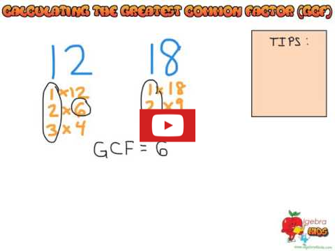 how to simplify fractions by calculating the GCF of the numerator and the denominator, calculating prime factors of a number